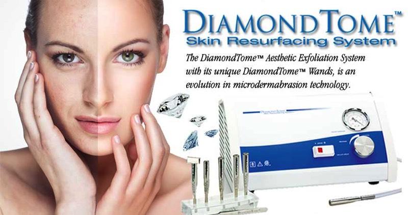 used diamondtome microdermabrasion machine